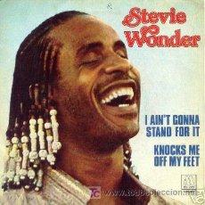 Discos de vinilo: SINGLE STEVIE WONDER SPANISH EDITION MOTOWN SOUL. Lote 13924464