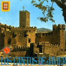 Discos de vinilo: POPULAR EN EL CASTILLO DE JAVIER - LA MARCHA A JAVIER / APOSTOL DEL ORIENTE - EP - 1967. Lote 16519219