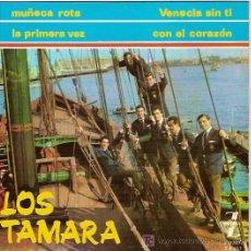 Discos de vinilo: LOS TAMARA EP SELLO ZAFIRO AÑO 1965. Lote 5577299