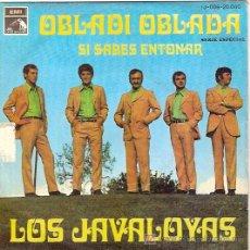 Discos de vinilo: LOS JAVALOYAS SINGLE SELLO EMI-LA VOZ DE SU AMO AÑO 1969. Lote 5577333