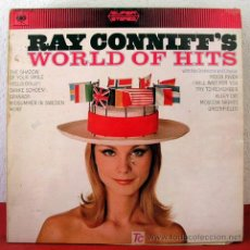 Discos de vinilo: RAY CONNIFF & ORCHESTRA ( RAY CONNIFF'S WORLD OF HITS ) ENGLAND-1966 LP33. Lote 5601334