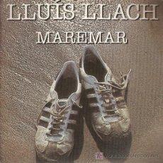 Discos de vinilo: DISCO SENCILLO DE LLUIS LLACH: MAREMAR Y MAI NO SABRÉ. DE ARIOLA – EURODISC, S.A. . Lote 25497982