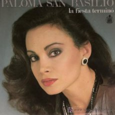 Discos de vinilo: EUROVISIÓN. DISCO SENCILLO DE PALOMA SAN BASILIO: LA FIESTA TERMINÓ Y SIN TI. DE HISPAVOX.. Lote 25497983