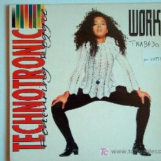 Discos de vinilo: TECHNOTRONIC - WORKS / WORK IT - SINGLE PROMO ESPAÑOL DE 1991. Lote 5607576