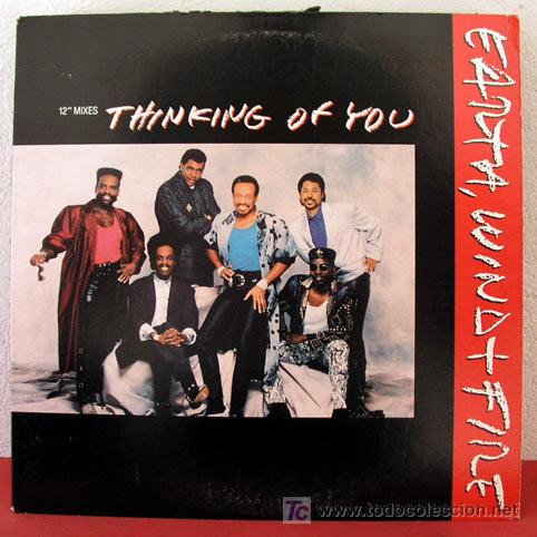 EARTH, WIND & FIRE ( THINKING OF YOU 3 VERSIONES ) USA-1987 MAXI45 'COLUMBIA' (Música - Discos de Vinilo - Maxi Singles - Rock & Roll)