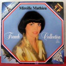 Discos de vinilo: MIREILLE MATHIEU ( FRENCH COLLECTION ) GERMANY LP33. Lote 117583696