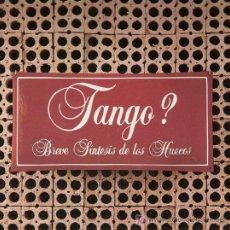 Discos de vinilo: DISCO SENCILLO DE VINILO TANGO?: BREVE SÍNTESIS DE LOS HUECOS. DE PDI, 1985. . Lote 25572591