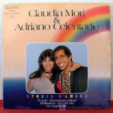Discos de vinilo: CLAUDIA MORI & ADRIANO CELENTANO ( STORIA D' AMORE ) GERMANY LP33. Lote 5631939
