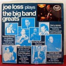 Discos de vinilo: JOE LOSS PLAYS THE BIG BAND GREATS ITALY LP33. Lote 5635060