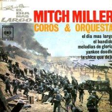 Discos de vinilo: MITCH MILLER - B.S. O. 'EL DÍA MÁS LARGO' - EP - 1962. Lote 17806999