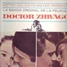 Discos de vinilo: DOCTOR ZHIVAGO LP BANDA SONORA ORIGINAL MUSICA MAURICE JARRE 1966 SPA MGM. Lote 12702548