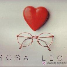 Disques de vinyle: ROSA LEON LP !AY AMOR! CONTIENE ENCARTE LETRA DE CANCIONES 1992 SANNI RECORDS. Lote 19445298