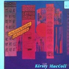 Disques de vinyle: KIRSTY MACCOLL - WALKING DOWN MADISON / ONE GOOD THING - SINGLE INGLÉS DE 1990. Lote 5660334