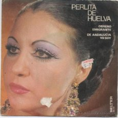 Discos de vinilo: PERLITA DE HUELVA. Lote 5665398