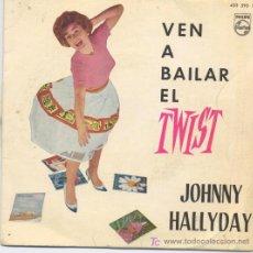 Discos de vinilo: JOHNNY HALLYDAY. Lote 5671100