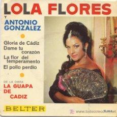 Discos de vinilo: LOLA FLORES. Lote 5678804