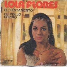 Discos de vinilo: LOLA FLORES. Lote 6947476