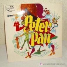 Discos de vinilo: PETER PAN,AÑO 1966,45 RPM. Lote 20477655
