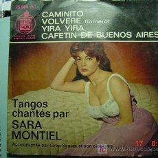 Discos de vinilo: 1254 FUNDA DE DISCO SARITA MONTIEL - RARA EDICION EN FRANCES AÑO 1961 - COSAS&CURIOSAS. Lote 5681007