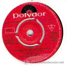 Discos de vinilo: THE BEE GEES -MASSACHUSSET ( THE LIGHTS WENT OUT IN ) / BARKER OF THE U.F.O 1967. Lote 5695088