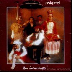 Disques de vinyle: OSKORRI - EZPATADANTZA / AMOROS GAIXOA - 1984. Lote 26757473