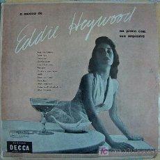 Discos de vinilo: LP - EDDIE HEYWOOD - SU PIANO Y SU ORQUESTA - ORIGINAL DE BRASIL, DECCA SIN FECHA. Lote 11471954