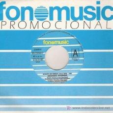 Discos de vinilo: DISCO SENCILLO DE VINILO DE EDUARDO RODRIGO: BOQUITA DE CEREZA Y MI GRAN CIUDAD. DE FONOMUSIC, 1984.. Lote 25595215