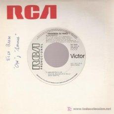 Discos de vinilo: DISCO SENCILLO DE VINILO DE ELSA BAEZA: AMORERO Y OYE. DE RCA, 1985. . Lote 44991682