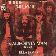 Discos de vinilo: SINGLE 45 RPM / THE MOVE / CALIFORNIA MAN //// EDITADO POR EMI /// SOLO PORTADA . Lote 5717877