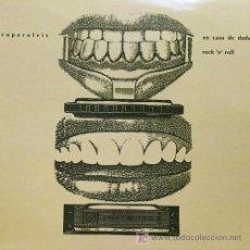 Discos de vinilo: SUPERELVIS 'EN CASO DE DUDA ROCK'N'ROLL' 1990 G33G, ENCARTE CON CREDITOS. Lote 5812940