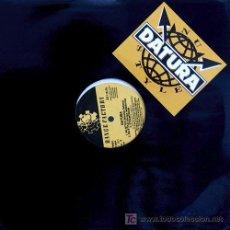Discos de vinilo: DATURA 'UN STYLE' MAXI 5 TEMAS. Lote 5812967