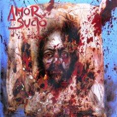 Discos de vinilo: AMOR SUCIO 'LA FARSA' 1991 TRIQUINOISE, PORTADA DOBLE, ENCARTE INTERIOR CON LETRAS Y FOTOS. Lote 5813228