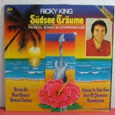 Discos de vinilo: RICKY KING ( TROPICAL SONGS IM GITARRENSOUND ) 1983-HOLANDA LP33 'EPIC'. Lote 5735513