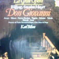 Discos de vinilo: LA GRAN OPERA DON GIOVANMI ( 1 ). Lote 23734474