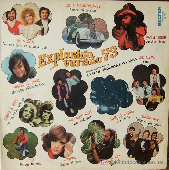 DISCO EXPLOSION VERANO 1973 (Música - Discos - LP Vinilo - Grupos Españoles de los 70 y 80)