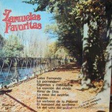 Discos de vinilo: ZARZUELAS FAVORITAS. Lote 27601640