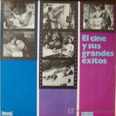 Discos de vinilo: EL CINE Y SUS GRANDES EXITOS. Lote 24525970