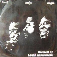 Discos de vinilo: THE BEST OF LOUIS ARMTRONG. Lote 22396742