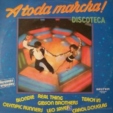 Discos de vinilo: A TODA MARCHA -DISCOTECA-. Lote 27601631