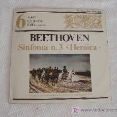 Disques de vinyle: BEETHOVEN- SINFONIA Nº3 LA HEROICA. Lote 5745600