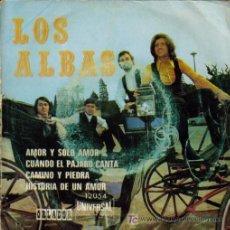 Discos de vinilo: LOS ALBAS-AMOR Y SOLO AMOR + 3 E.P. EDIC. ESPECIAL RARO EDITA ORLADOR EN 1971. Lote 5751978