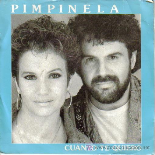 PIMPINELA-CUANTO TE QUIERO SINGLE PROMO EDITA EPIC EN 1990 (Música - Discos - Singles Vinilo - Grupos y Solistas de latinoamérica)