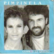 Discos de vinilo: PIMPINELA-CUANTO TE QUIERO SINGLE PROMO EDITA EPIC EN 1990. Lote 5752527
