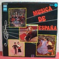 Discos de vinilo: MUSICA DE ESPAÑA (FARRUCA, SEVILLANAS, GRANADA, ¡A LOS TOROS!, EL BESO, ESPAÑA CAÑI, EL GATO MONTES. Lote 5763236
