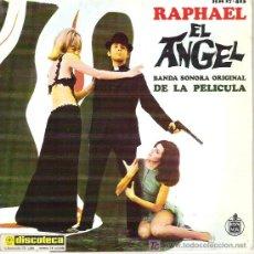 Discos de vinilo: RAPHAEL - EL ANGEL - CORAZON CORAZON / EL ANGEL / VIVE TU VIDA / MADRE 1969. Lote 14153018