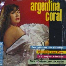 Discos de vinilo: ARGENTINA CORAL EP. Lote 5822464