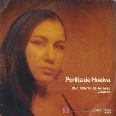 Discos de vinilo: PERLITA DE HUELVA. Lote 191725860