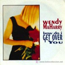 Discos de vinilo: WENDY MAHARRY 'HOW DO I GET OVER YOU'. Lote 5826123