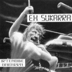 Discos de vinilo: E.H.SUKARRA 'ZU GABE' / 'EZ DUZU IKUSTEN' ESAN OZENKI RECORDS, 1993. Lote 5830893