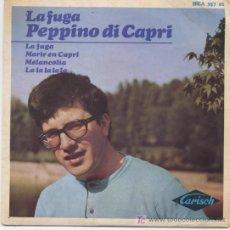 Discos de vinilo: PEPPINO DI CAPRI, LAFUGA. Lote 5778130